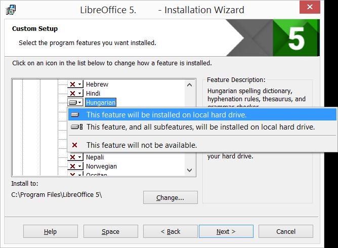 Windows | LibreOffice - オフィススイートのルネサンス