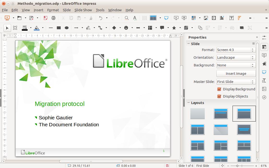 スクリーンショット | LibreOffice - オフィススイートのルネサンス