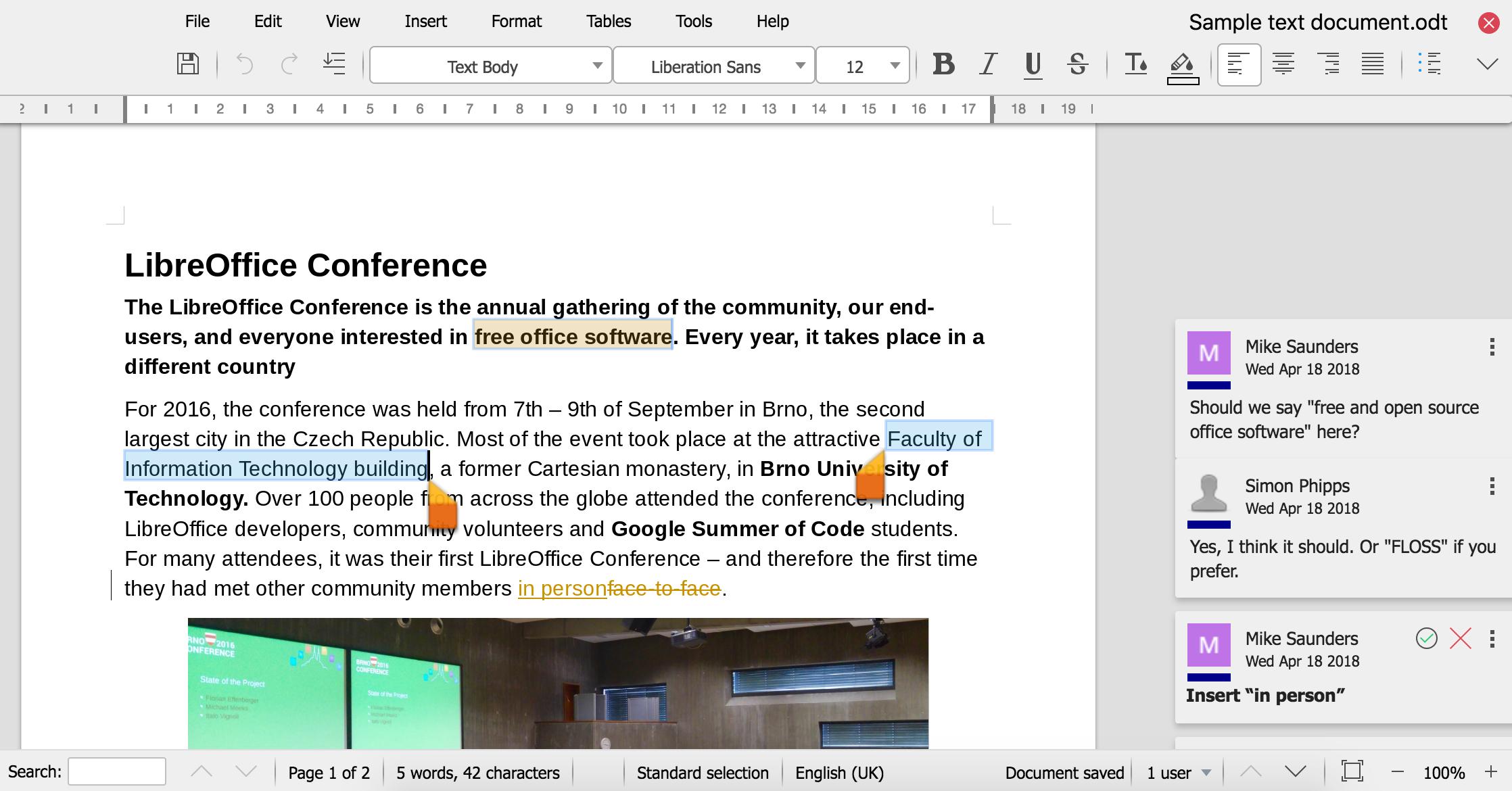 LibreOffice Online | LibreOffice - オフィススイートのルネサンス